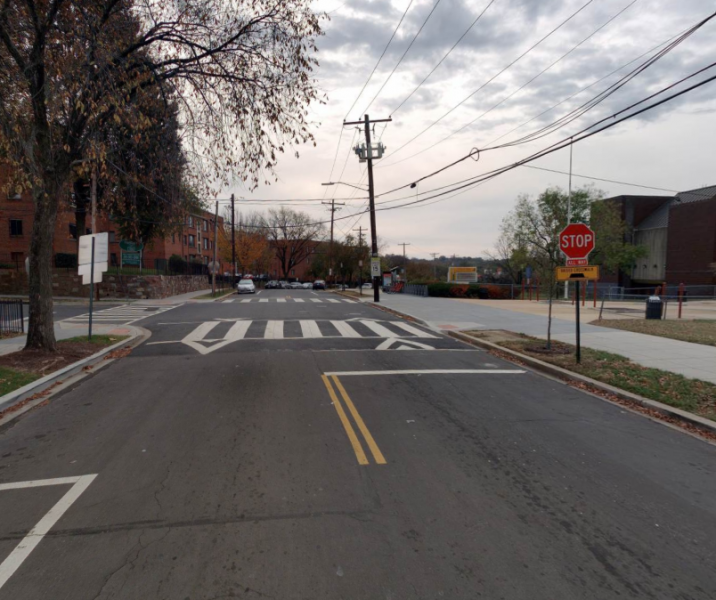 Traffic Safety Assessment--street in southeast DC