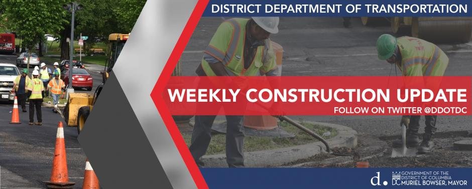 Weekly Construction Update Banner