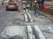 M Street Cycle Track Installation Now Underway