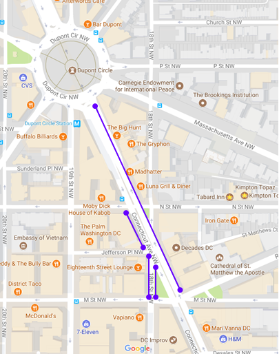 Dc Zone Parking Map on