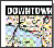 DC Bike Map 1 icon - Downtown Side