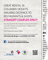 Sexual Orientation & Gender Identity Ad