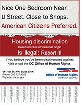 Download Housing Discrimination Poster: Race or National Origin