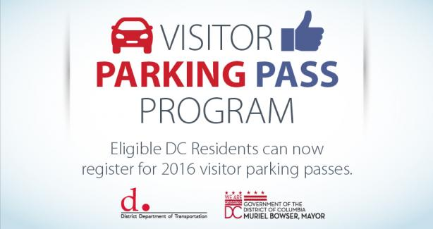 2016 Visitor Parking Pass