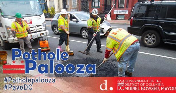 Potholepalooza 2018