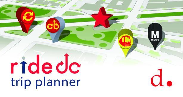 rideDC Trip Planner App
