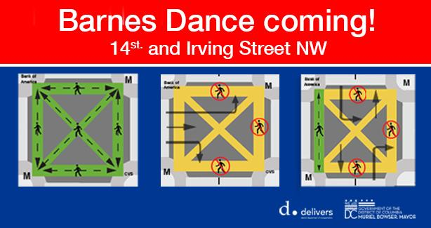 Barnes Dance on 14th and Irving Street NW