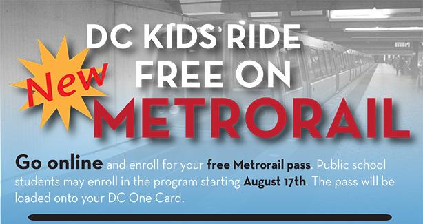 Kids Ride Free on Rail