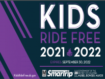 Kids Ride Free Card SY 21/22