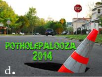 Potholepalooza 2014 campaign poster