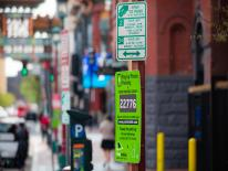 parking signs in downtown dc