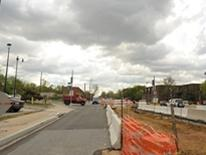 View of Benning Road Reconstruction Project
