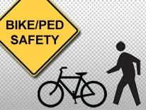 Bicycle and Pedestrian Safety Logo