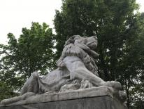Restored Lions on Taft Bridge