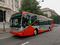 DC Circulator red bus