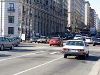 Traffic Volume Maps - street scene of traffic in DC