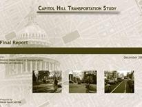 Capitol Hill Transportation Study – Final Report cover
