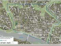 Georgetown Transportation Study map