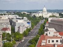 Public Space Management - aerial view of dc