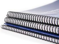 Right of Way Policies and Procedures Manual - stack of plain spiral-bound notebooks