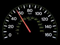 Speed Study Data and Map - speedometer