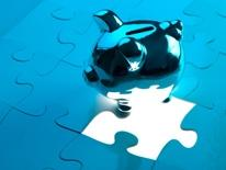 Transportation Capital Budget Plans - blue jigsaw puzzle with a piece removed