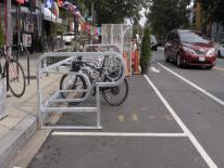H St Bike Corral